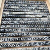 13,5 mm HELVETICA breitmager Bleisatz Buchstabe Letterpress Bleischrift Handsatz