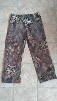 Browning packable rain pants, Lg. Mossy Oak Breakup Hardwoods,Used