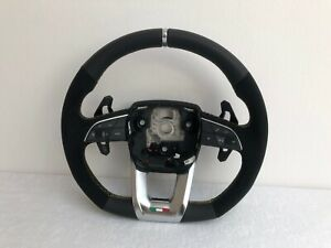 Lamborghini Urus 4M Leather Steering Wheel Alcantara Yellow Seam Original