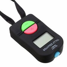 Digital Tally Counter Electronic Manual Clicker Golf Gym Security Running US