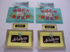 NORTHERN BEER/BOCK LABELS SUPERIOR WISCONSIN WI 2 EACH