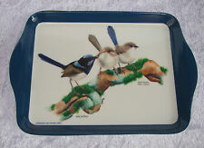 ASHDENE SCATTER TRAY - BLUE WREN - 'BIRDS OF AUSTRALIA' SERIES - BLUE WRENS