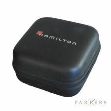 HAMILTON WATCH TRAVEL CASE BLACK WITH FOAM INSERT