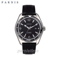 42mm Parnis Sapphire Crystal Miyota Automatic Men's Watch Stainless Steel Case