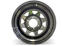 """17X8"""" BLACK SUNRAYSIA Steel Wheel 0P, For Colorado,Triton, Hilux, FREE DELIVERY*"""