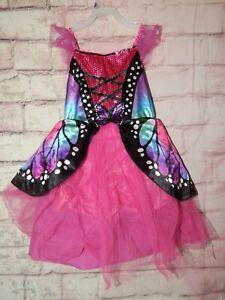 Kids Butterfly Dress Up Costume ~ size 4/6 ~ Purple / Pink