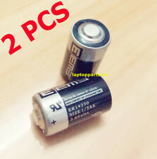2 pcs x New 3.6V 1200mAh ER14250 LI-SOCl2 1/2AA Battery Non-rechargeable