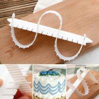 2pcs Plastic Fondant Mold Cake Decorating Cake Mould Kitchen Supply Tool