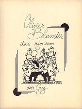 OLIVIER BLUNDER 04 - OLIVIER BLUNDER, DA'S MIJN ZOON