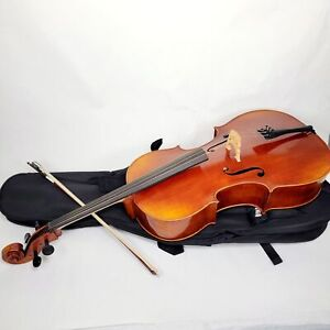 Yamaha Model AVC7-44SG 4/4 Cello Outfit with Bag and Bow MINT CONDITION