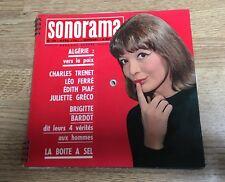 # SONORAMA n°29 45 tours flexi Juliette Gréco Eurovision 1961 Piaf complet EXC *