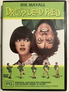 DROP DEAD FRED - DVD Region 4 - Rik Mayall Phoebe Cates