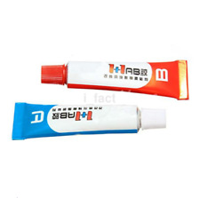 Utility 2pc Component Resin A+B Glue Strong Adhesive Epoxy Super Sticky CA