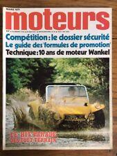 MOTEURS n 84 Mars 1971 Jean Pierre JABOUILLE BERTONE AUTOBIANCHI OPEL DIPLOMAT