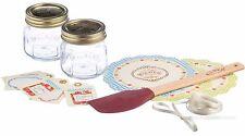 Kilner Mermelada de 16 piezas Conjunto de regalo hace su propia Tarros Frascos Mermelada ollas atascos preservar