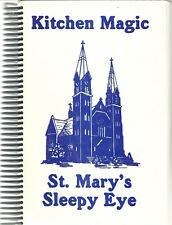 SLEEPY, EYE, MINNESOTA COOKBOOK - ST MARY'S CATHOLIC CHURCH - 1983 - GREAT BOOK!
