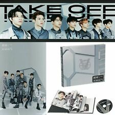 WAYV WAY V NCT First Mini Album Take Off CD Lyrics Booklet Photo Card Set