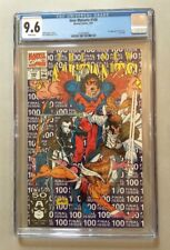 New Mutants, Vol 1, #100, 4/1991, CGC 9.6, White Pages, 1st Appearance X-Force