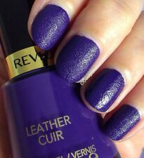 REVLON LEATHER CUIR VERNIS A ONGLES EFFET TEXTILE 14,7 ML DOWN TOWN