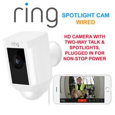Anillo Spotlight Cam Con Cable Cámara HD con dos vías de hablar & focos de seguridad Cam W