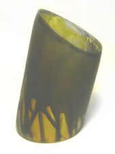 "STATEMENT 80's CARA CRONINGER Art to Wear RESIN/Acrylic 4 3/4"" CUFF BRACELET sm"