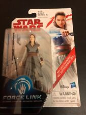 2017 STAR WARS THE LAST JEDI - REY - JEDI TRAINING - NEW FORCE LINK BLACK