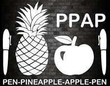 APPLE PINEAPPLE PEN PPAP Sticker Funny Car Window Bumper Novelty Vinyl DecaL v2
