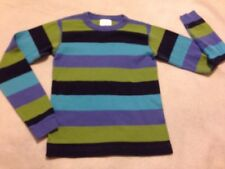 Hanna Andersson 140 (10), Boys Multicolor Long Sleeve Pajama Top