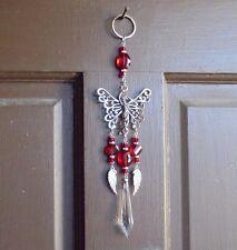 XLarge Angel Butterfly Crystal Suncatcher~Hang on Light Lamp/Auto/Wall Decor