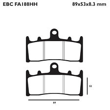 EBC FA188HH Replacement Brake Pads for Front Suzuki GSF 1200 Bandit 01-05