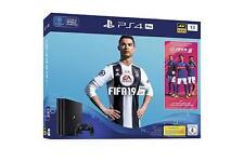PlayStation 4 (PS4) Pro 1TB - aktuellstes Model - Schwarz inkl. Fifa 19