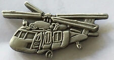 Black Hawk Helicopter lapel pin badge.     H020905