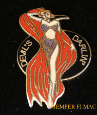 THE DEVIL'S DARLIN NOSE ART WW 2 HAT LAPEL VEST PIN UP US ARMY AIR CORPS FORCE