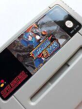 Megaman and Bass SNES Super Nintendo Video Game PAL version