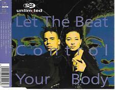 2 UNLIMITED - Let the beat control your body CDM 5TR Eurodance (BYTE) 1994