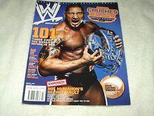 WWE Wrestling Magazine March 2007 Batista