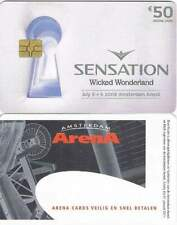Arenakaart A106-01 50 euro: Sensation 2009