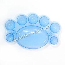 Decoración de color principal azul de plástico para uñas