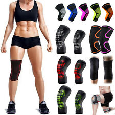 Copper Knee Support Patella Compression Sleeve Elastic Neoprene Arthritis Brace