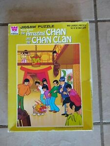 Whitman The Amazing Chan and the Chan Clan 100 Piece Puzzle 1973