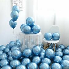 25Pcs Blue Chrome Shiny Metallic 12