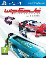 WipEout Omega Collection PS4 * NEW SEALED PAL *