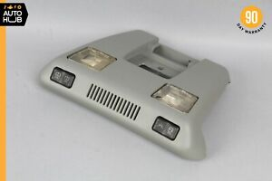90-96 Mercedes R129 SL500 300SL SL600 Overhead Dome Light Lamp Gray OEM