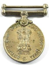 Vintage Indian Rare Collectible Medallion For 9 Years Long Service. G29-96 AU