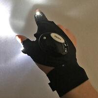 Practical Night LED Light Finger Lighting Glove Repair Hike Outdoor Flash Gloves