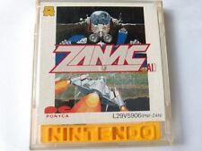 ZANAC for FAMICOM DISK SYSTEM shooter Game/Disk,case/Work fine-B-
