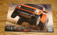 Original 2009 Ford F-150 SVT Raptor Pickup Truck Sales Sheet Brochure 09