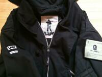 WTAPS BAPE A BATHING APE Collaboration Hoodie Jacket Outer Men's M Size ARMY