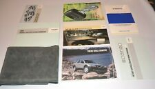 2004 VOLVO CROSS COUNTRY OWNERS MANUAL GUIDE BOOK SET WITH CASE OEM