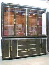 Stunning Vtg. Deco Romweber Buffet / China Cabinet; Circassian Walnut Veneer